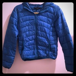 Fiore quilted light weight jacket size medium